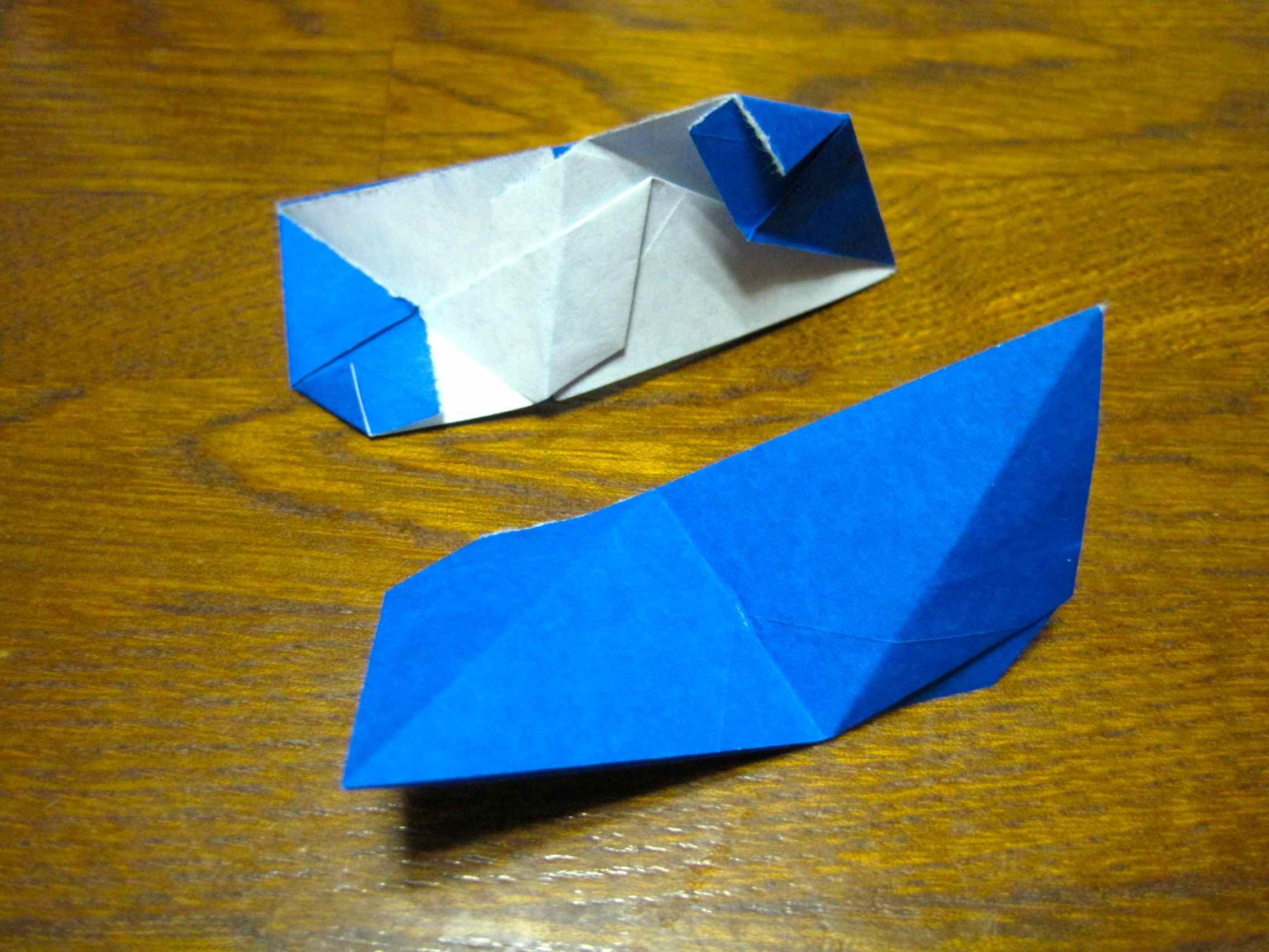 すべての折り紙 ユニット折り紙多面体折り方 : ... 多面体を作るときのユニット