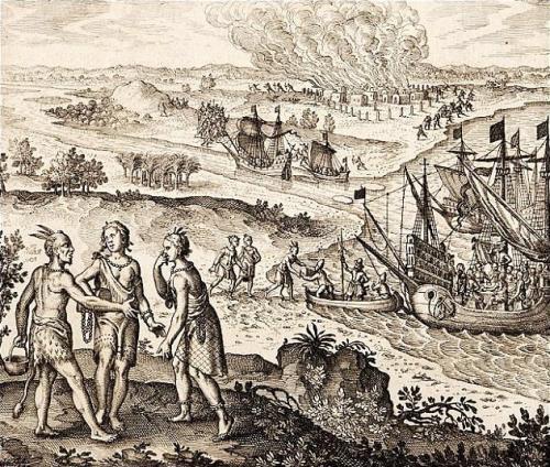 スペインによるアメリカ大陸の植民地化