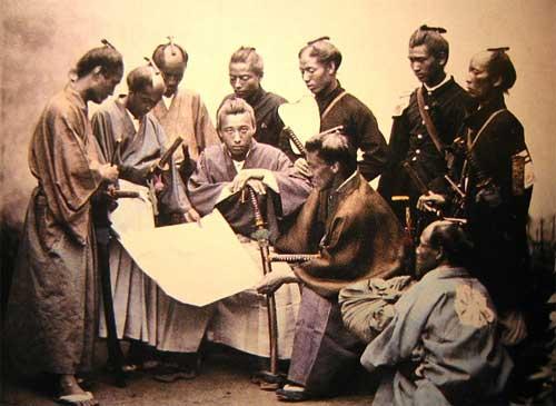日本史の偉人の身長が面白い