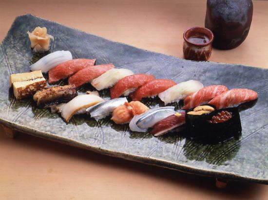 高級寿司店では「ガリ」や「アガリ」などの業界用語は引かれるらしい