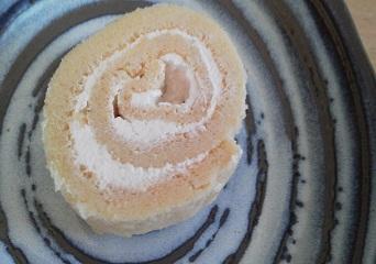 大豆粉ロールケーキ