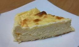 低糖チーズケーキ