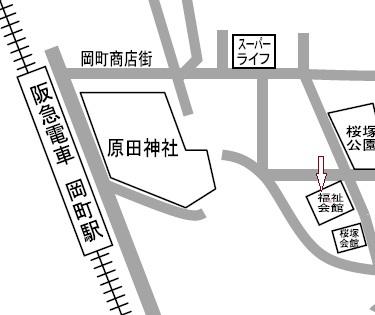 20120929豊中市福祉会館地図