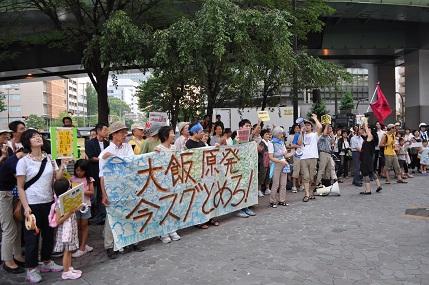 関電支社前1 20120727