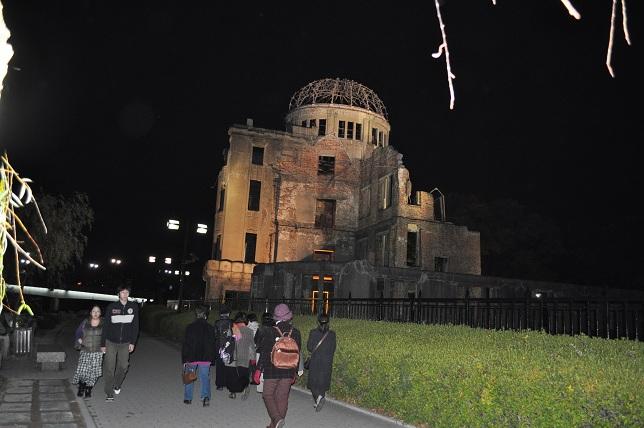 広島の原爆ドーム