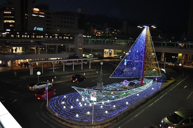 豊田市駅 イルミネーション