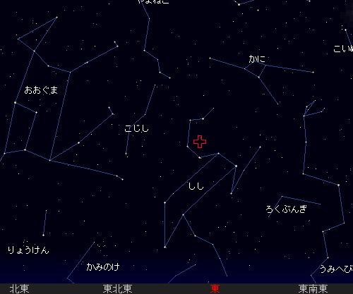 201211 17 しし座流星群星図