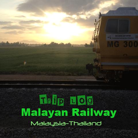マレー鉄道ー表紙