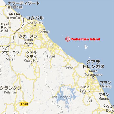 プルフンティアン島MAP