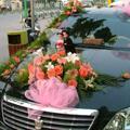 結婚式 車