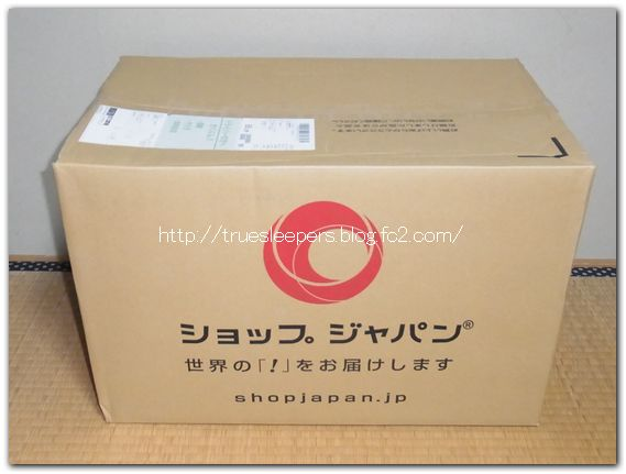 トゥルースリーパーはこんな箱で届きました