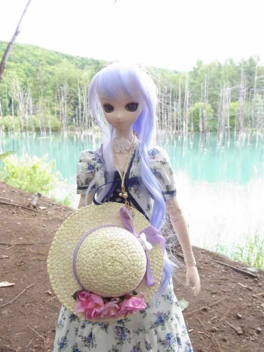 神奈 青い池05