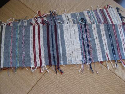 ラーヌキッチン織り上がり