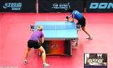 【卓球】 ヤンハウンVSクリスティン スペインオープン2012