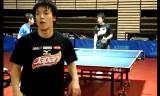 水谷隼と松平賢二の練習4分間 チリオープン2012