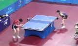 【卓球】 鄭栄植VS ユージャーチン1/2 韓国オープン2012