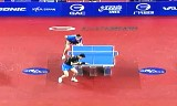 【卓球】 張継科VS許(決勝戦) 韓国オープン2012