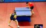 【卓球】 張継科 VSパーソン(準々) 韓国オープン2012