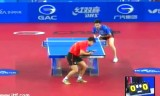 【卓球】 王皓 VS 柳承敏(韓国) 韓国オープン2012