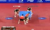 【卓球】 馬龍/許VS王皓/張継科 韓国オープン2012