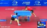 【卓球】 馬龍敗退VS李尚洙 韓国オープン2012
