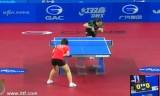 【卓球】 劉詩文VSリジャウェイ 韓国オープン2012