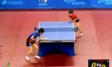 【卓球】 山梨有理 VS 唐汭序  韓国オープン2012