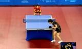 【卓球】 石川佳純VS武揚(カット)韓国オープン2012