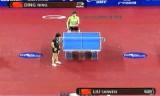 【卓球】 劉詩文VS丁寧(決勝戦) 韓国オープン2012