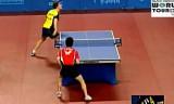 【卓球】 上田仁のU21決勝戦 韓国オープン2012