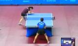 【卓球】 阿部恵VS朴美英(カット)韓国オープン2012