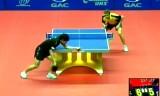 【卓球】 町飛鳥VSパーソン(接戦)中国オープン2012