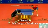 【卓球】 馬龍VS高木和卓(2回戦) 中国オープン2012