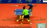 【卓球】 王励勤 VS ノルージ 中国オープン2012
