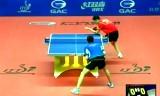 【卓球】 王励勤VS江天一(準々決)中国オープン2012