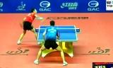 【卓球】 許VS呉尚垠 (準々決)中国オープン2012
