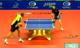 【卓球】 馬龍 VS カールソン 中国オープン2012