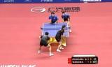 【卓球】 馬琳/張継科VS馬龍/王皓 中国オープン2012
