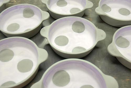 グラタン皿釉掛け・その2.1