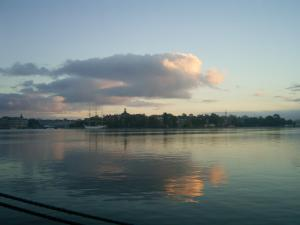 lake or sky