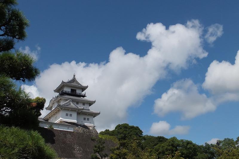 掛川城 夏