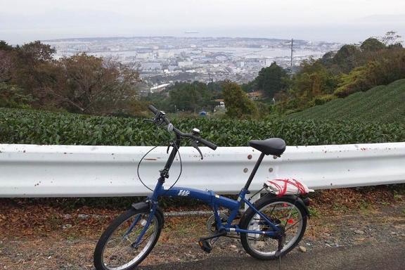 折りたたみ自転車日本平