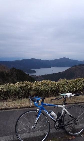 箱根の頂上