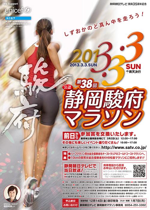 2013 駿府マラソン