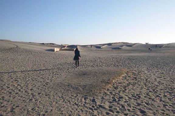 砂漠みたいな中田島