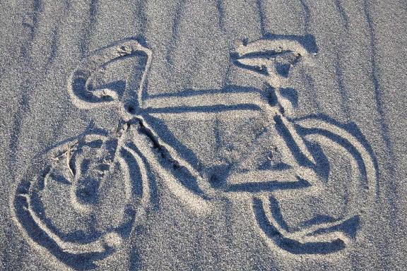 砂絵ロードバイク