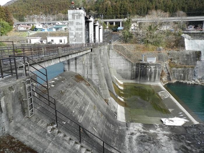 湯西川ダム冬期閉鎖14