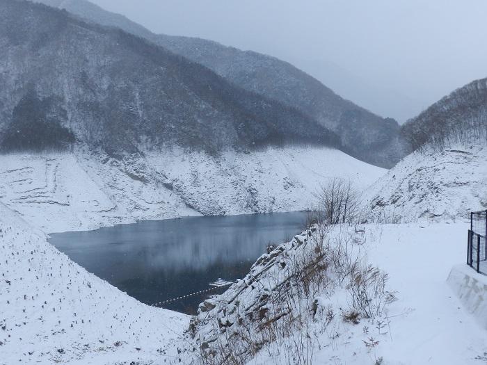 湯西川ダム冬期閉鎖13