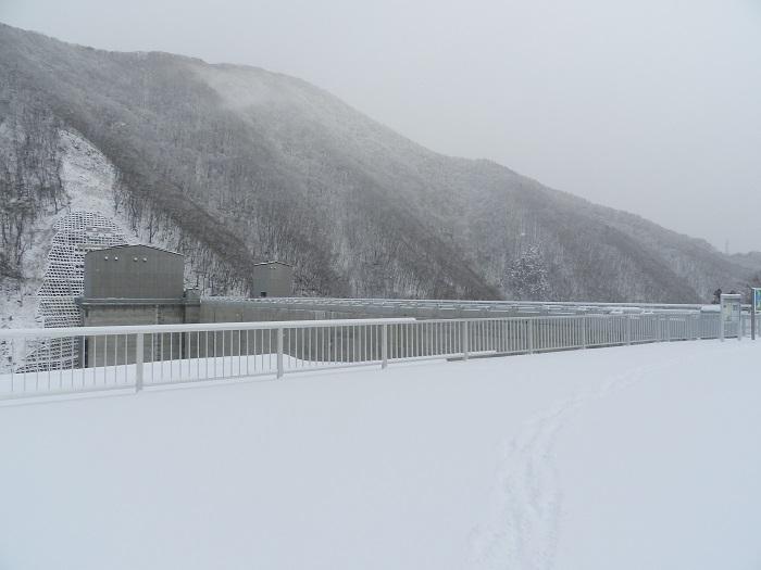 湯西川ダム冬期閉鎖11
