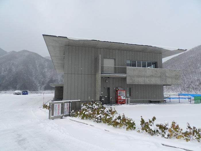 湯西川ダム冬期閉鎖10